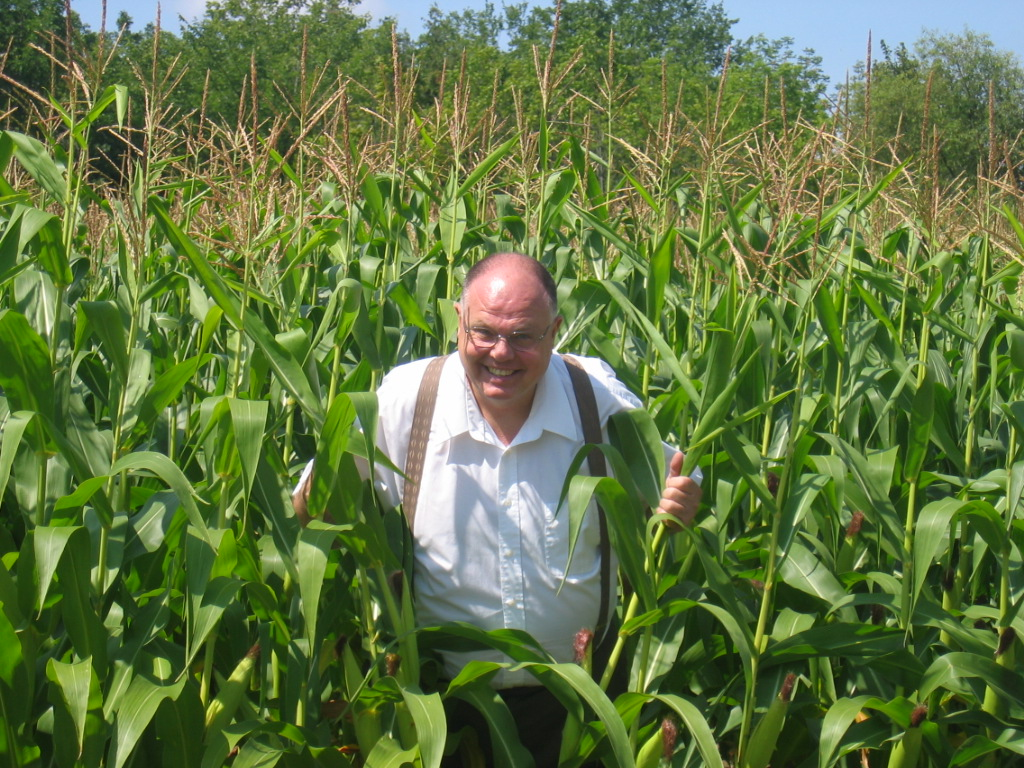 John In A Corn Field