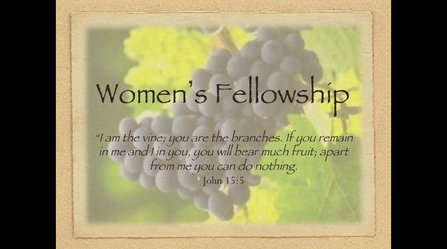 Womens fellowship