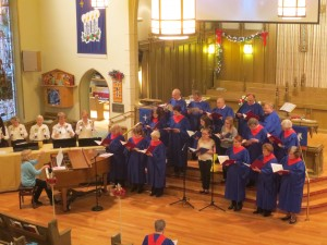 advent combined choirs